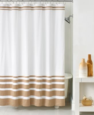 Hotel Collection Gradient Stripe Shower Curtain Shower Curtains Bed Amp Bath Macys