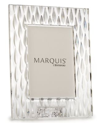 Marquis By Waterford Picture Frame Rainfall 5 X 7