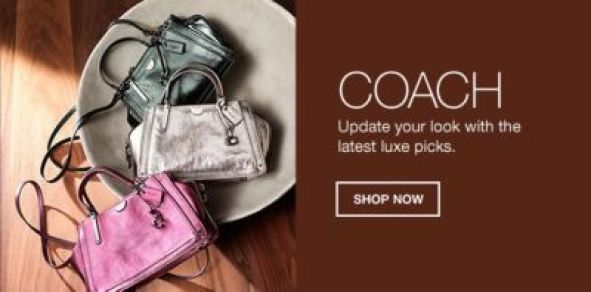 Coach, Update your look with the latest luxe picks, Shop Now
