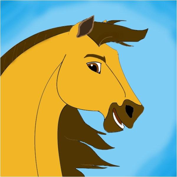 paint spirit stallion of the cimarron # 66