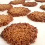 Oat Snap Cookies