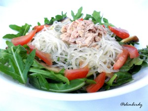 lemon noodle salad