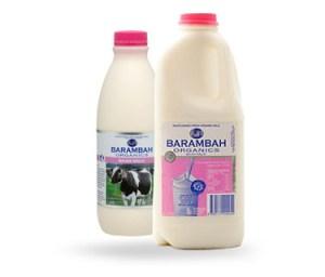 skim milk, barambah organics, grass fed