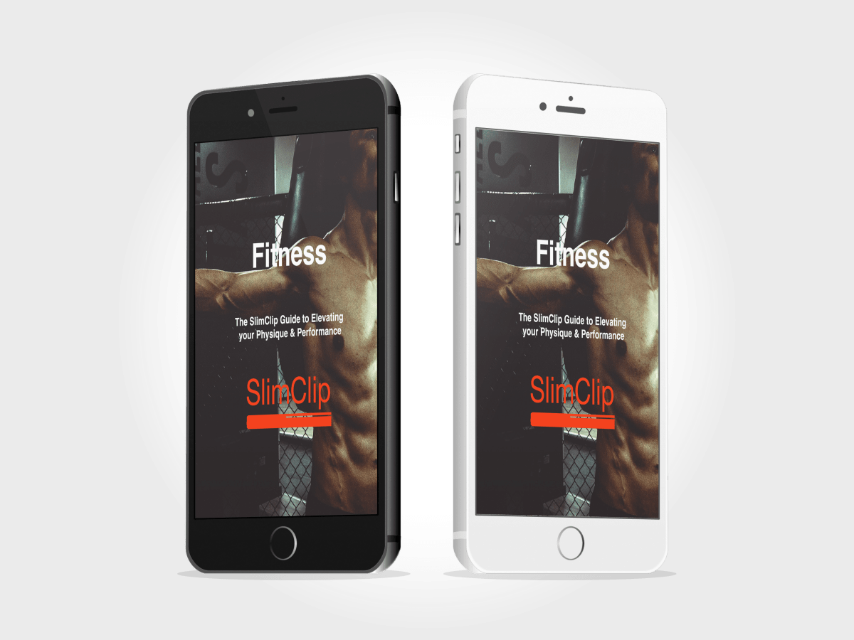 SWEAT by SlimClip Case fitness-guide-1-iphone-mockup Ultimate Fitness Guide Vol 1