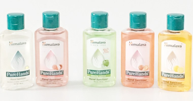 Himalaya Hand Sanitizer Review & Giveaway