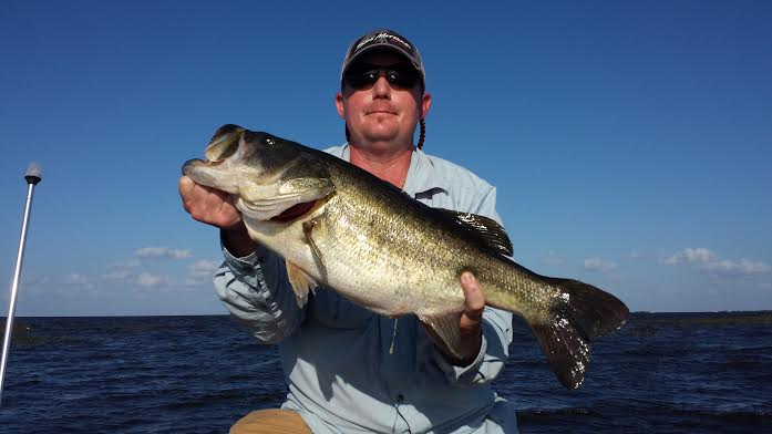 We caught a monster for Lake okeechobee fish camps