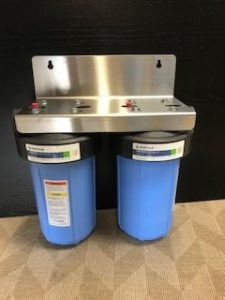 rainwater harvesting dual whole house filtration