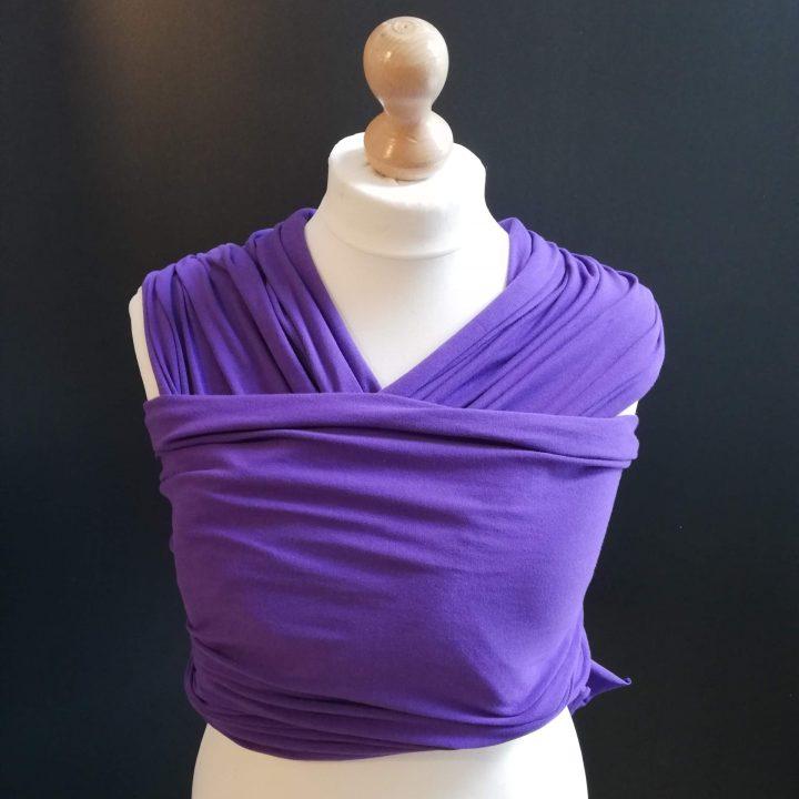 purple stretchy wrap