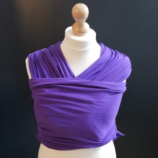 purple stretchy wrap