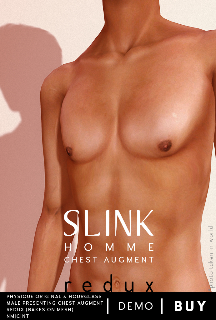 Slink Homme Chest Poster