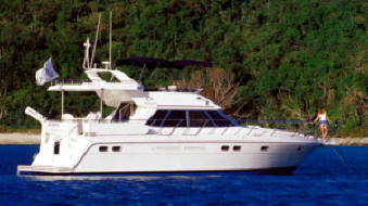 Motoryachts from 37 to 56 feet