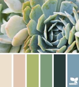 Succulent Hues color palette by Design Seeds