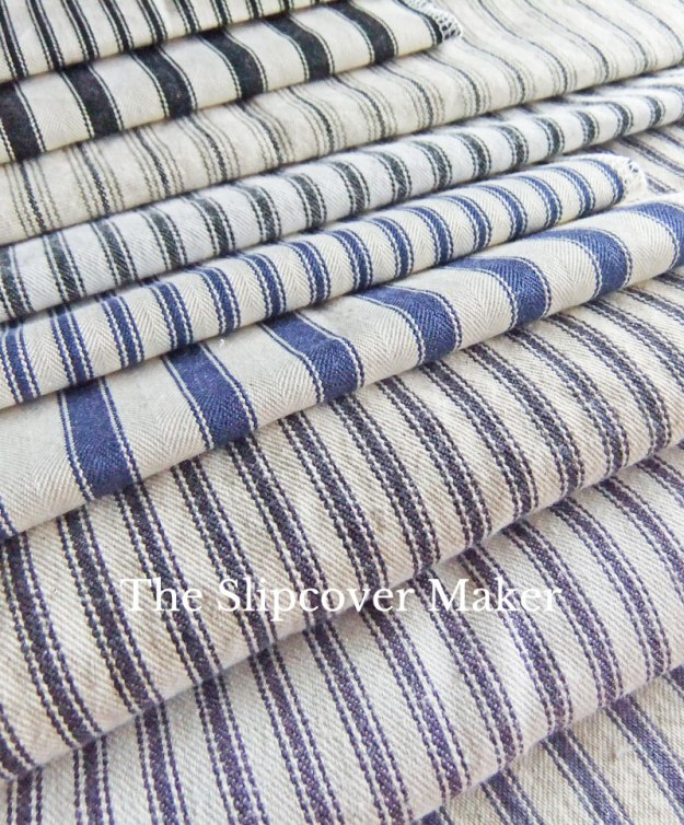 The Slipcover Maker Ticking Fabric Review