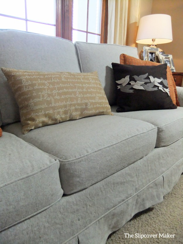 Linen Slipcover for Sofa