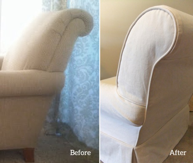 Chair Slipcover Side Panel