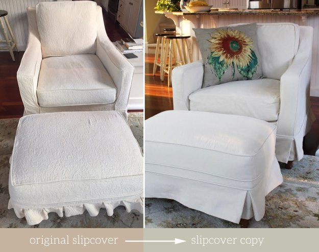 Chair Slipcover Replicates at The Slipcover Maker