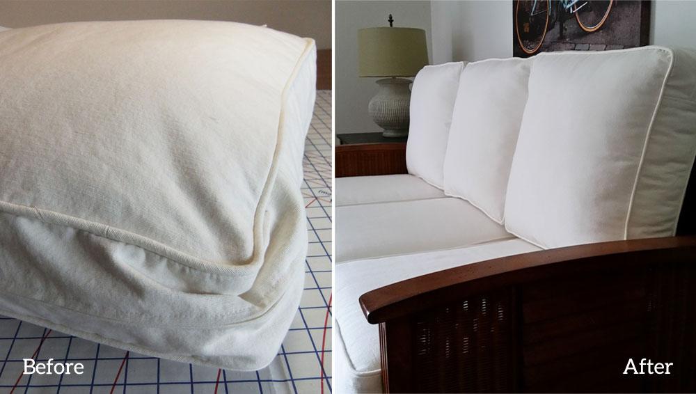 How To Refresh Sofa Cushions