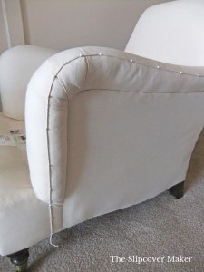 Pin Fit Tip for Chair Slipcover