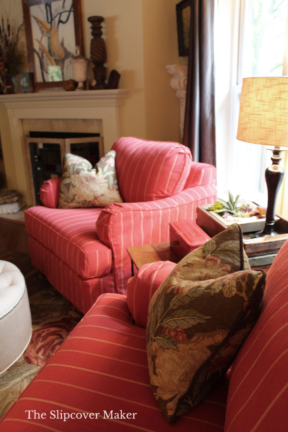 Fabric Pattern Mixing with Slipcovers