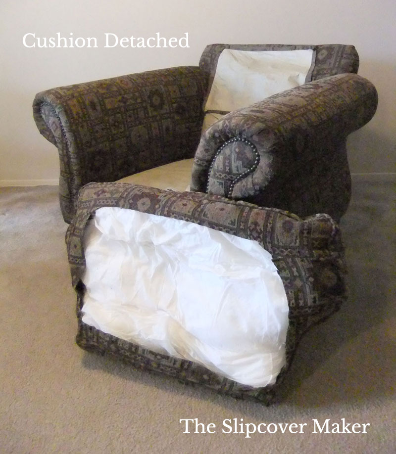 The Slipcover Maker's Guide to Detaching Back Cushions