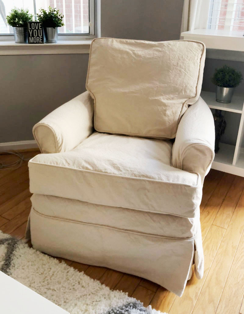 Worn Out Slipcovers Make the Best Replacements