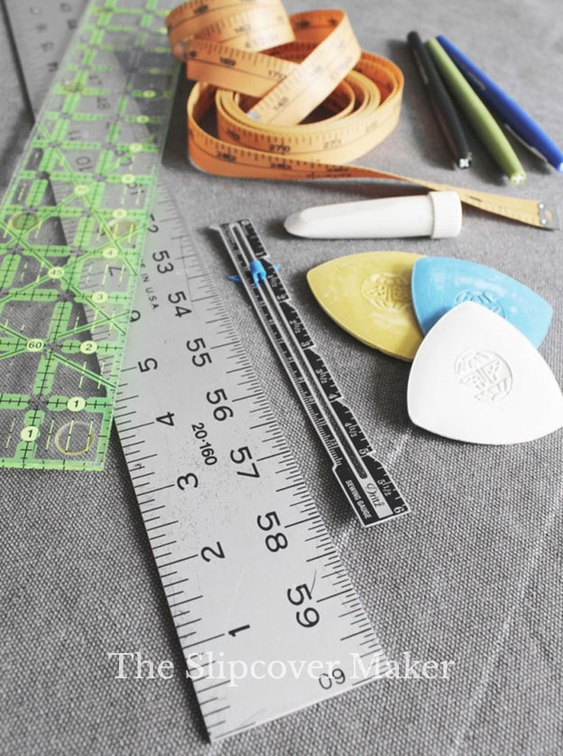 Measuring Tools for Slipcover Makers