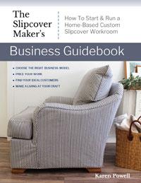 Slipcover Maker News: My New Ebook, Hemp Fabrics & Cushion Makeover Tip
