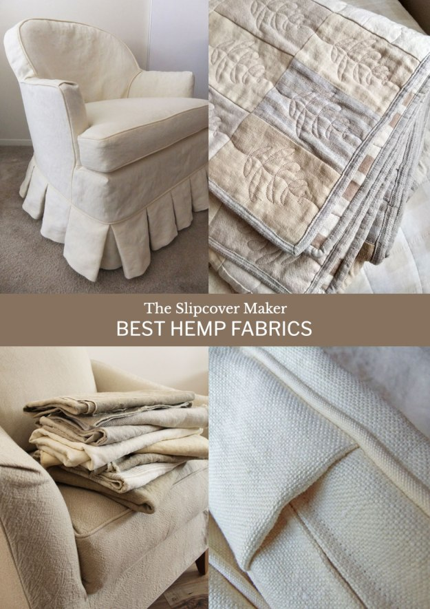 Hemp Fabrics for Slipcovers
