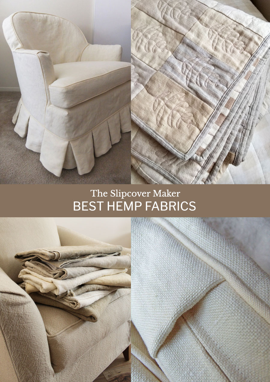 Hemp Fabrics for Slipcovers
