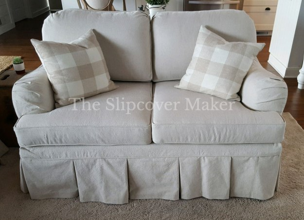 Custom Slipcover for Loveseat