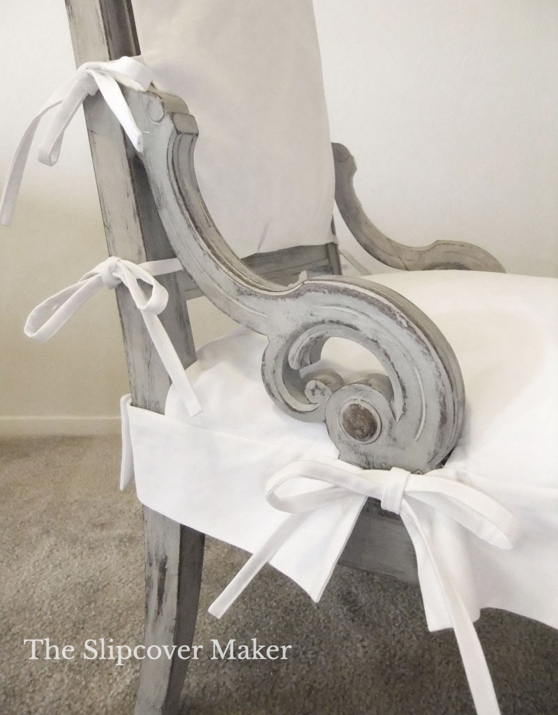 Slipcover & Paint Ideas for Exposed Wood Furniture