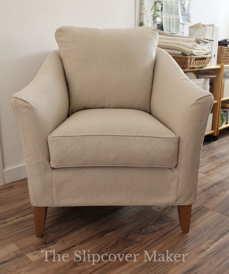 Tailored Slipcovers for Vintage Ethan Allen Chairs