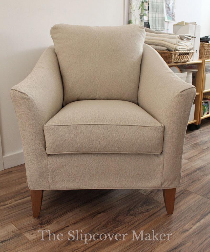Cotton Linen Chair Slipcover
