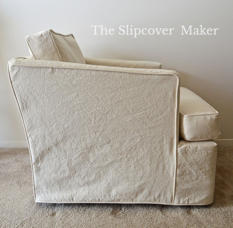 Natural Canvas Chair Slipcover