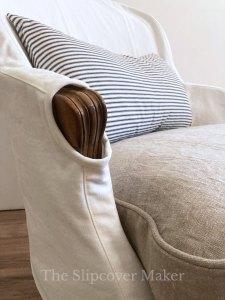 Slipcover for Grande Duke French Chair