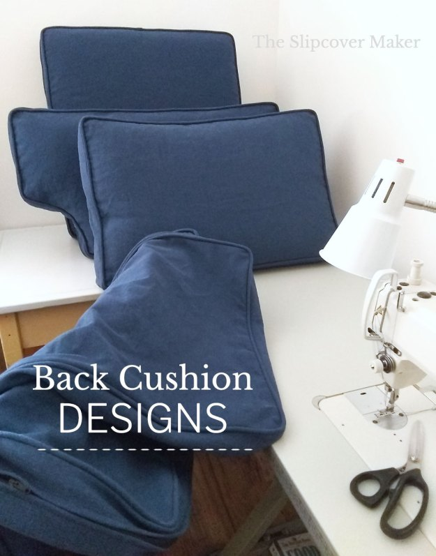 Cushion Designs for Slipcovers