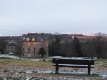 Cumbernauld House from the park