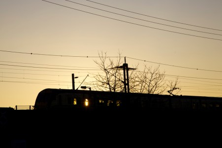 Last light to Glasgow Central