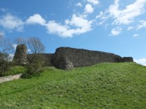Not much left of Berwick castle either. They built the railway station right were the castle was.