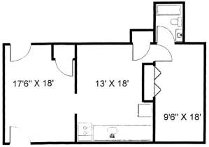 Martha Rose 1 Bedroom Apartment