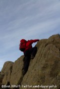 Graham does a bit of bouldering (2)...