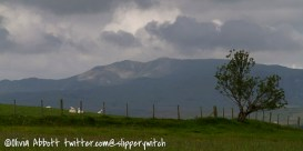 Light on Arenig Fawr