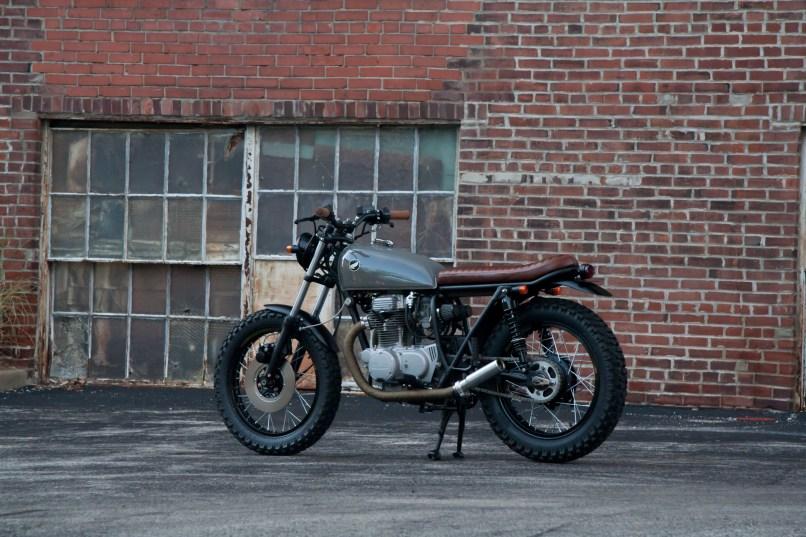 1974 Honda Cb360 Scrambler Custom Motorcycle