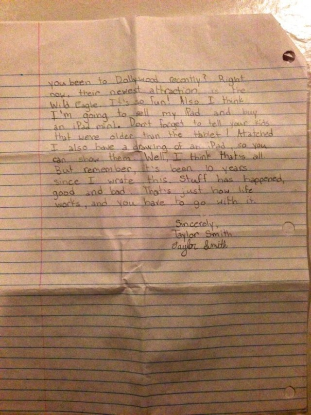 Parents Find Letter Their 12-Year-Old Daughter Wrote To Future Self After She Died