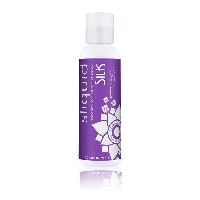 Silk 2oz - Natural Lube - Hybrid Lube - Best Lube - Lube for Women - Sliquid