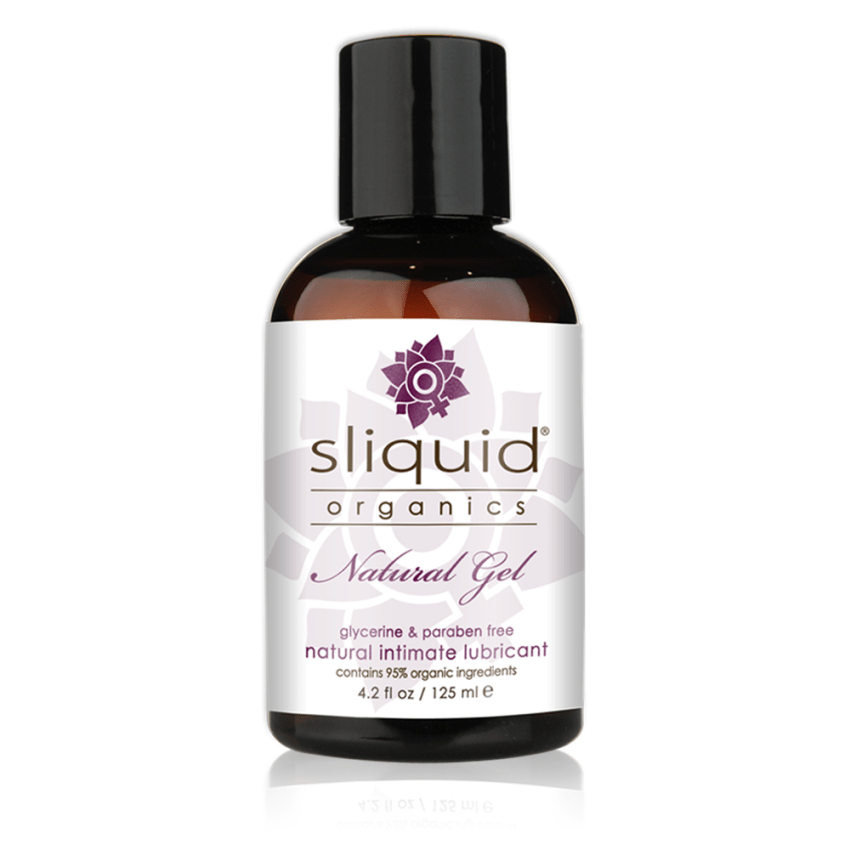 Sliquid Organics - Natural Gel - Organic Gel Lube - 4oz