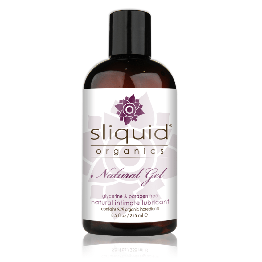 Sliquid Organics - Natural Gel - Organic Gel Lube - 8oz