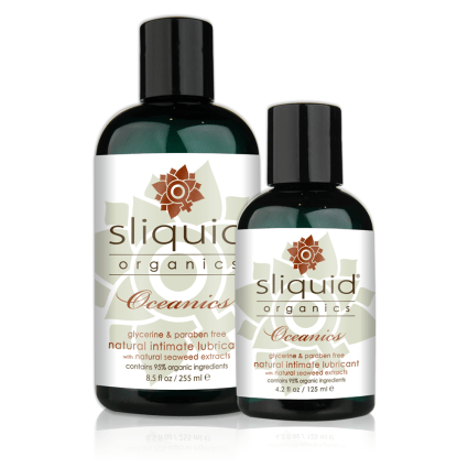 Sliquid - Sliquid Organics Oceanics - Organic Lube with Seaweed - Group Shot