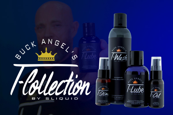 Sliquid Introduces Buck Angel's T-Collection