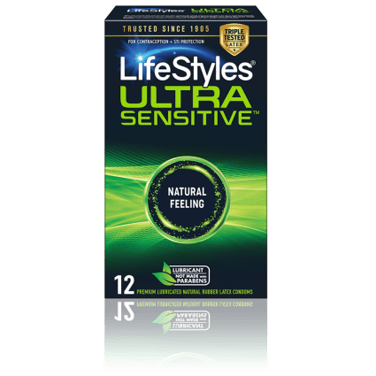 LifeStyles Ultra Sensitive Condoms